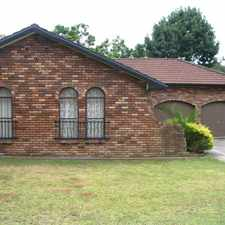 Rental info for BRICK HOME IN WINSTON HILLS in the Northmead area
