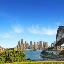 Rental info for Stunning Harbour Side Apartment in the Kirribilli area