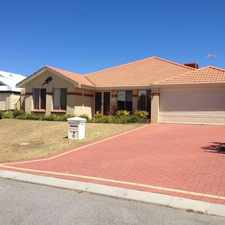 Rental info for HUGE FAMILY HOME, LARGE LIVING in the Perth area