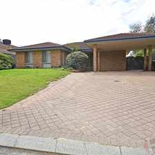 Rental info for 4 x 2 Family Home in Fantastic Location in the Joondalup area