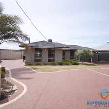 Rental info for BEAUTIFULLY PRESENTED HOME - PETS WELCOME! in the Hillarys area