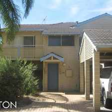 Rental info for SPACIOUS TOWNHOUSE IN QUIET COMPLEX