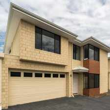Rental info for BEAUTIFUL, BRAND NEW, LOW MAINTENANCE TOWN HOUSE in the Belmont area