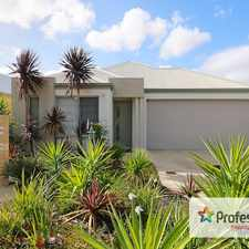 Rental info for OPEN TO VIEW TUESDAY 12TH SEPTEMBER AT 4.15PM in the Perth area