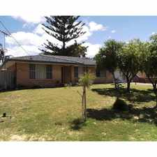 Rental info for FANTASTIC CENTRAL LOCATION! in the Perth area
