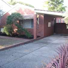Rental info for Conveniently Located. in the Mount Hawthorn area