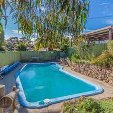Rental info for WALK TO THE BEACH in the Perth area