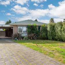 Rental info for Well presented family home