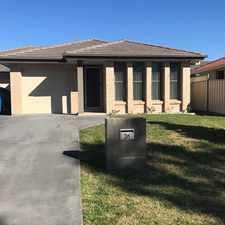 Rental info for Peaceful Outlook in the Cessnock area