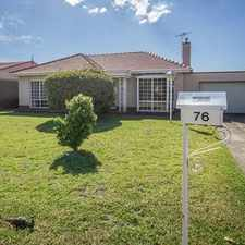 Rental info for Family Home With In-Ground Swimming Pool in the Woodville West area