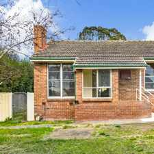 Rental info for Elevated red brick home with deep private garden in the Box Hill South area