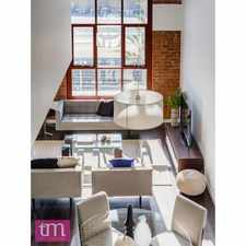 Rental info for PENTHOUSE - The Lofts Fremantle in the North Fremantle area