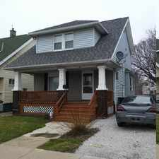 Rental info for 3117 W 98th Street in the Cleveland area