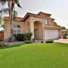 Rental info for 2305 E millbrae Court Gilbert, This Four BR, 2.5 BA home in the Mesa area