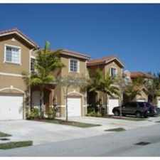 Rental info for NW 77th Terrace & NW 116th Ave