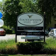 Rental info for Fountainview Apartments in the Risterstown Station area