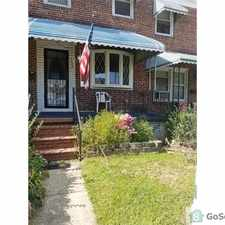 Rental info for 2 br off Holabird Ave. Central air, Finished basement, large fenced backyard in the Graceland Park area