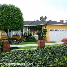 Rental info for 12442 Lucile Street in the Marina del Rey area