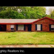 Rental info for 3409 CLEARBROOK STREET in the Southeast Memphis area