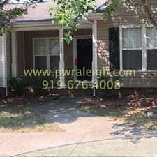 Rental info for 217 HIGHGATE CIRCLE in the Wake Forest area