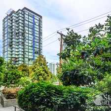 Rental info for 1723 Alberni Street #1107 in the Downtown area