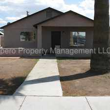 Rental info for Available early April 2018. Nice 2 Bed/1 Bath Home. RV Parking and Gate! in the Phoenix area