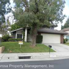 Rental info for 2201 OPEN SKY DRIVE in the 92833 area