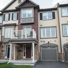 Rental info for 783 Mayfly Crescent in the Barrhaven area