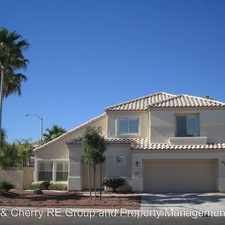 Rental info for 2521 Cortina Avneue in the Green Valley South area