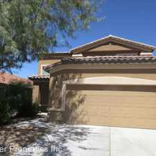 Rental info for 877 E Cottonwood Canyon Pl