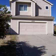 Rental info for 6140 Jaffee Court in the Stetson Hills area
