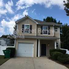 Rental info for Captivating in Canton! 144 Nacoochee Way