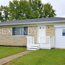 Rental info for Call for details (317) 793-3770 in the Stout Field area