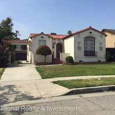 Rental info for 130 1/4 W. 110th Street in the Harbor Gateway North area