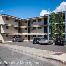 Rental info for 2724 Kolo Place - Unit #104 in the Honolulu area
