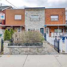 Rental info for 84 Margueretta Street in the Dufferin Grove area