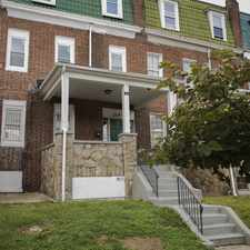 Rental info for 2314 Bryant Avenue in the Mondawmin area