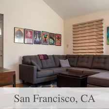 Rental info for San Francisco - Superb House Nearby Fine Dining... in the Monterey Heights area