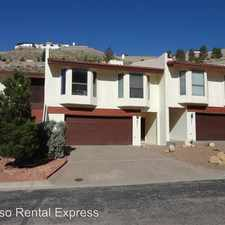 Rental info for 231 Canyon Terrace Dr
