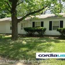Rental info for 8121 Barry Road in the Indianapolis area