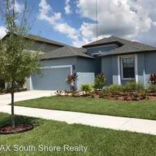 Rental info for 12275 Creek Preserve Dr in the Riverview area