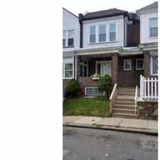 Rental info for 528 Rosalie St Philadelphia Three BR, Nice porch front house in