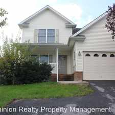 Rental info for 467 Pointe Drive in the Harrisonburg area