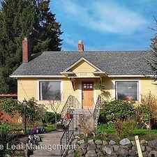 Rental info for 8723 31st Avenue NW