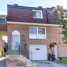 Rental info for 629 Rathburn Road #26 in the Eringate-Centennial-West Deane area