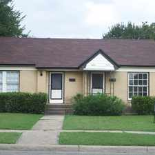 Rental info for 5106 North Hall Street in the Dallas area
