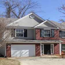 Rental info for Tricon American Homes in the Griffin area