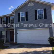 Rental info for Wonderful Two-Story Home In Charlotte in the Sunset Road area