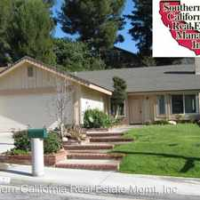 Rental info for 27702 Sequoia Glen Drive