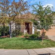 Rental info for Nicely appointed home located in Rancho Cordova in the Rancho Cordova area